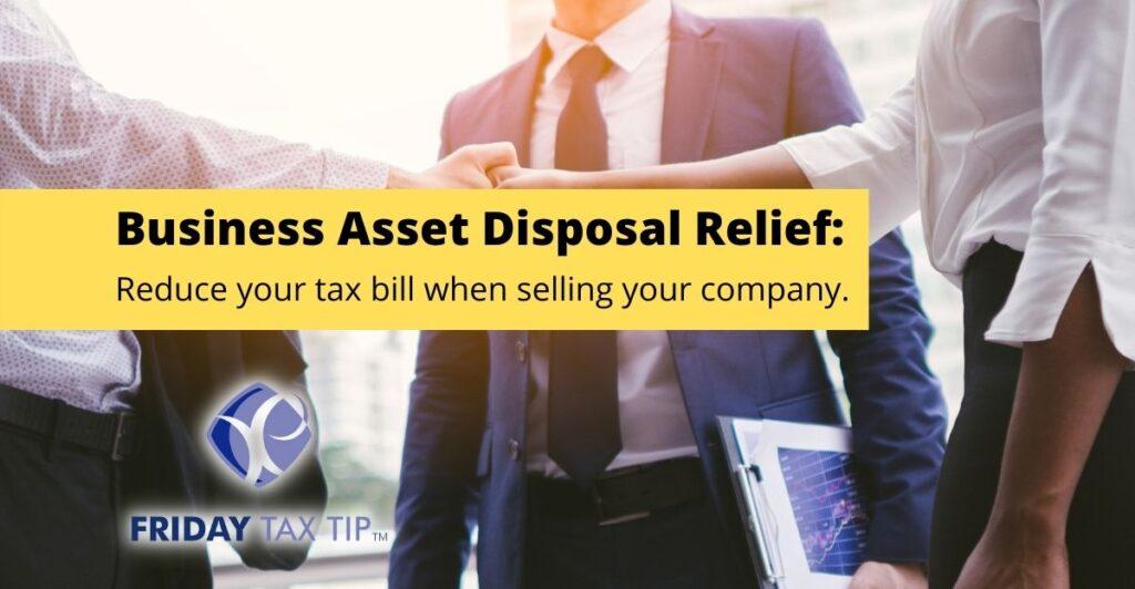 Business asset disposal relief